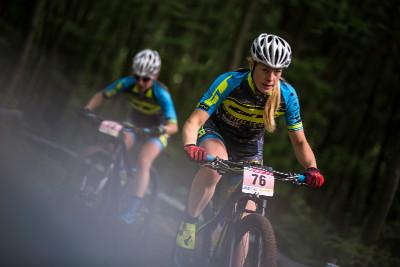 Lucie Veselá a Hana Ježková na ranním tréninku