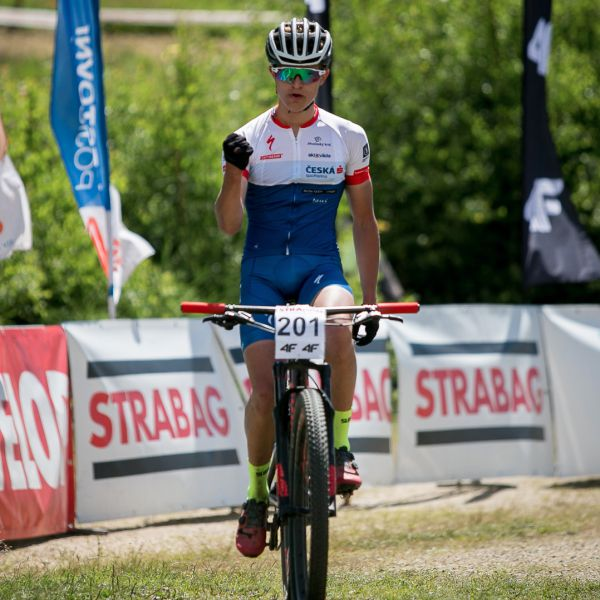 Samuel Jirouš vyhrál třetí závod ČP v řadě