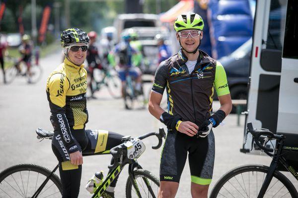 Tomáš Paprstka a Jirka Fikejz před závodem
