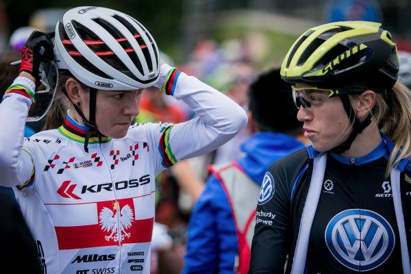 Maja a Katarzyna na startu Českého poháru