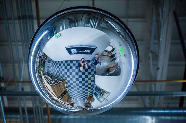 Santa Cruz factory - Cool zrcadlo