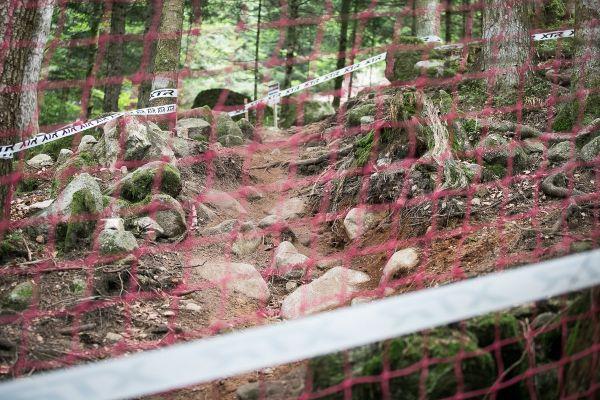 Odkud je další přírodní sjezdík s kameny
