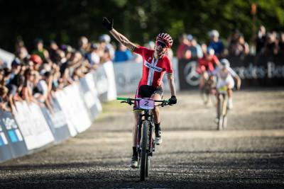 Annika Langvad znovu vyhrává krátký závod