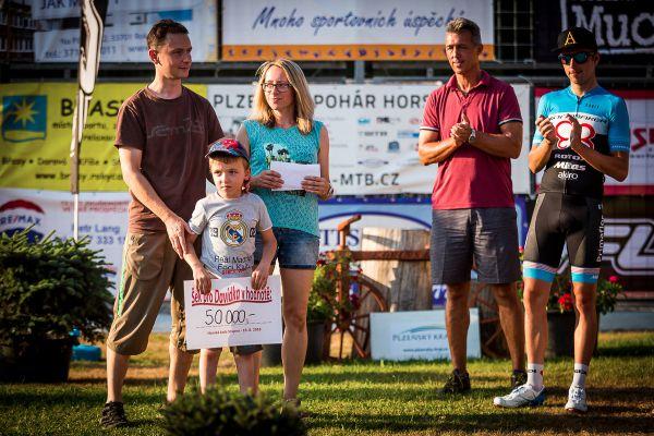 Horská kola Stupno 2018 - peníze pro Davidka