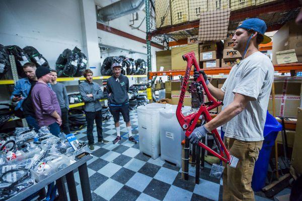 Santa Cruz factory - Další fáze na řadě