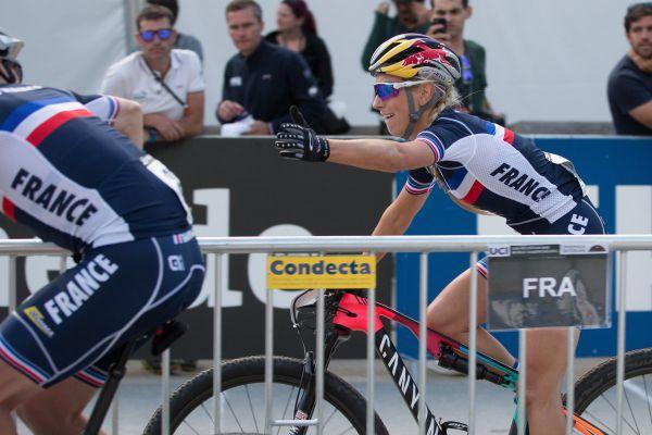 Pauline Ferrand Prevot jela pomaleji než Terka Sásková