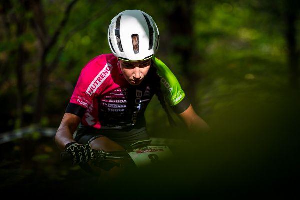 Estonská bikerska Greete Steinburg