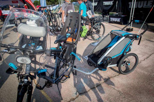 Roc d'Azur 2018 - Thule ukázalo, že vyrazit na vyjížďku můžete i s trojčaty :-)