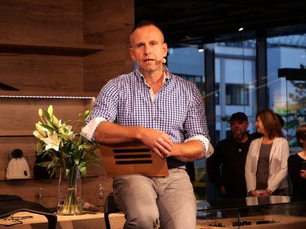 Antonín Strach otevírá novou prodejnu Endorphin Republic v Praze