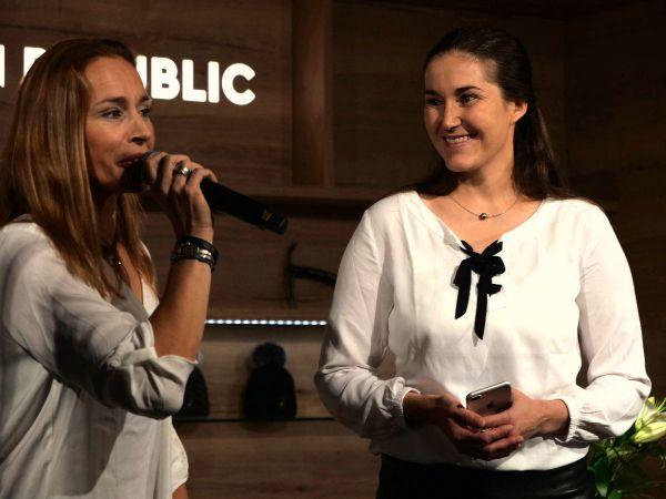 Lucie Výborná a Šárka Strachová