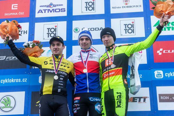 1.Michael Boroš, 2.Tomáš Paprstka, 3.Jan Nesvadba