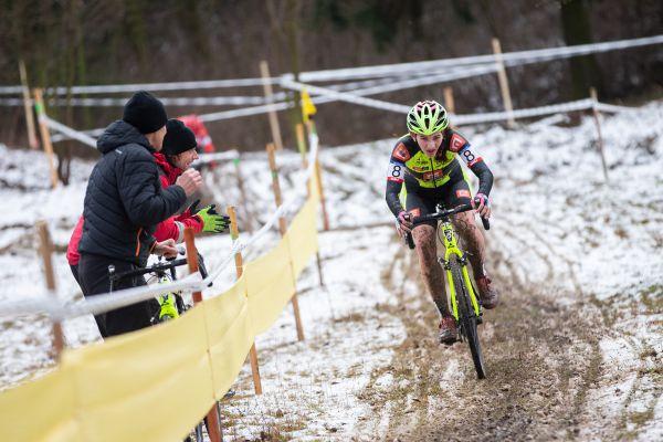 Kamila Janů si jede pro medaili