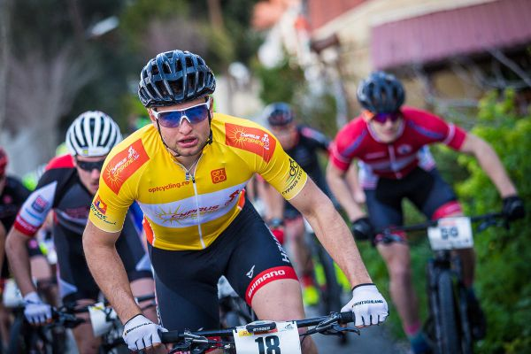 Afxentia 2019 - 2. den - vítěz prologu Luca Schwarzbauer dojel ve 2. etapě na 22. místě