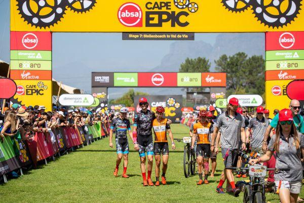 Cape Epic 2019 - foto, pohov a rozchod!