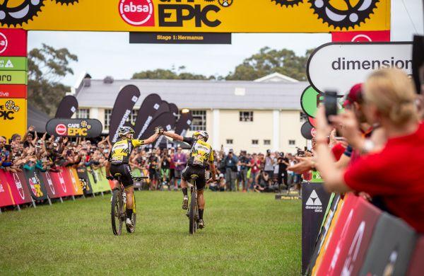 Cape Epic 2019 - 1. etapa, 2. vítězství pro Nina a Larse