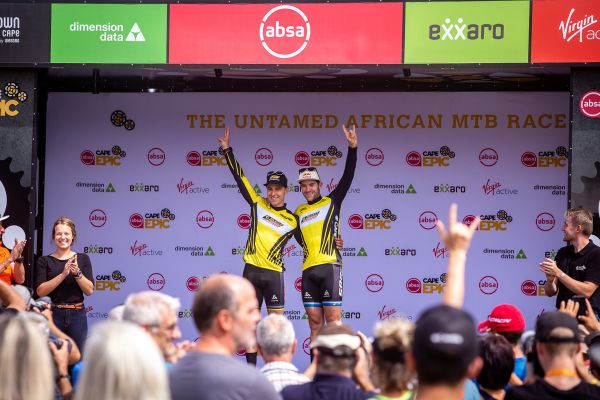 Cape Epic 2019 - back in yellow!