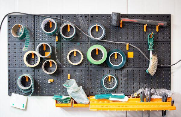 Kross - nástroje čističe a přípravy rámu do lakovny