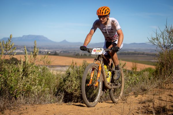 Cape Epic 2019 - Kristián a Stolová hora