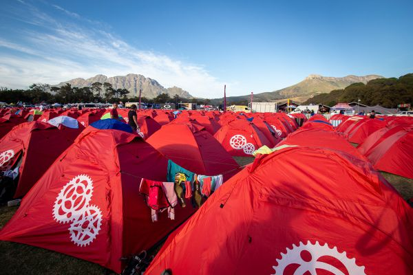 Cape Epic 2019 - a million star hotel!