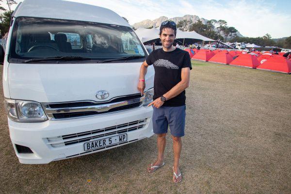 Cape Epic 2019 - Gioan se osvědčil jako pekař...