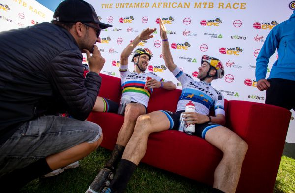Cape Epic 2019 - yeah bro, made it yellow again!