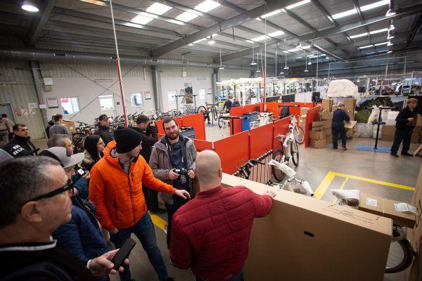 Kross - návštěva továrny 2019
