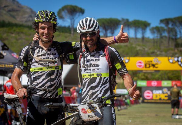 Cape Epic 2019 - Ondra Fojtík a José Silva
