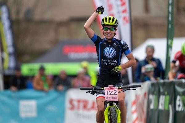 Alexandra Podgorska vyhrává závod žen