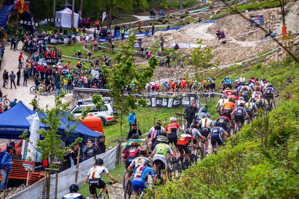SP XCO #1 Albstadt 2019 - třiadváci na okruhu