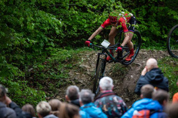 Annika Langvad odstoupila hned v úvodním kole