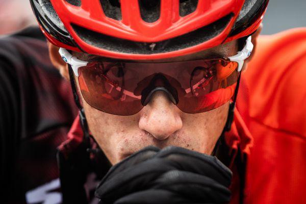 Chris Blevins před závodem do 23 let