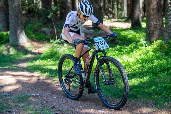 Vítězná juniorka Novozélanďanka Maxwell