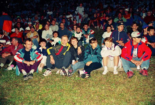 ME Špindl 1995 - česká výprava na zahájení
