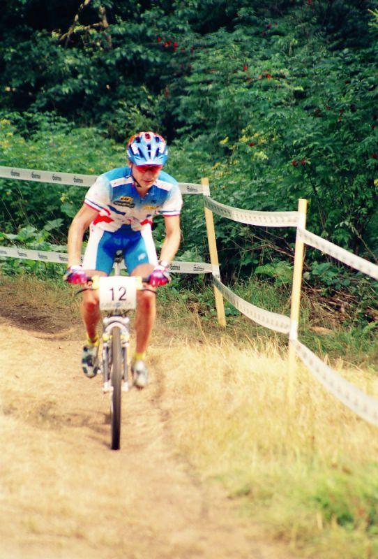 Jean-Christophe Savignoni (vítěz mužů elite)