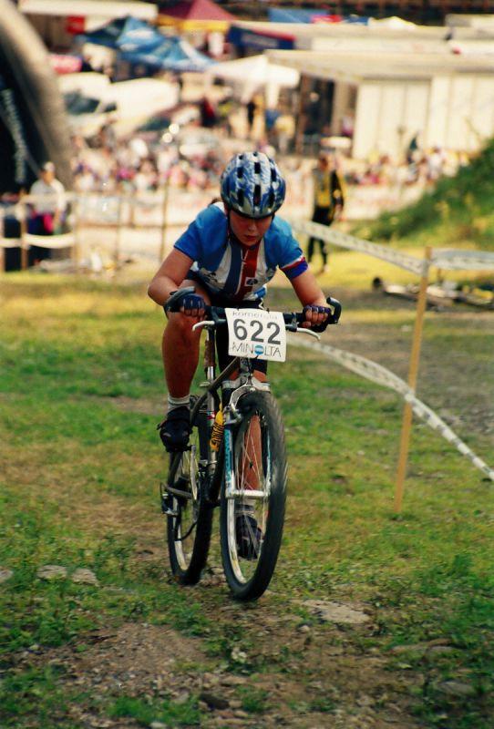 ME Špindl 1995 - Lucie Hanušová