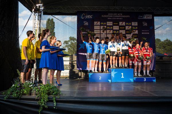 Mistrovství Evropy XCO - Brno 2019 - štafety