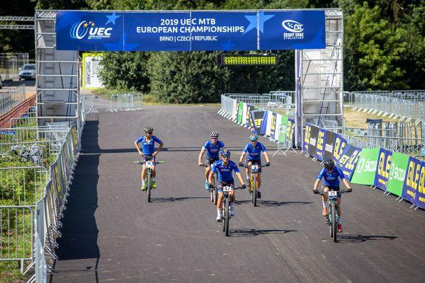 ME MTB Brno 2019 - italská štafeta? dost možná