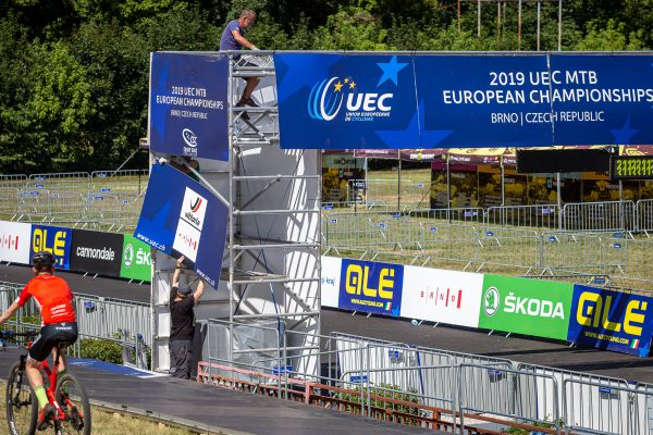 ME MTB Brno 2019 - poslední úpravy