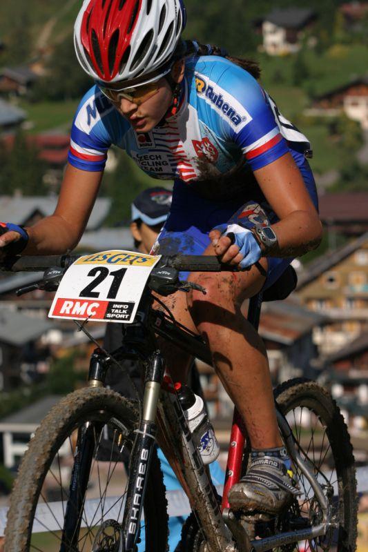 Les Gets 2004 - Tereza Huříková
