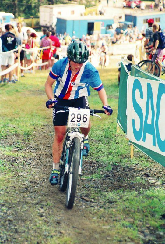 ME Špindl 1995 - Kateřina Hanušová - dnes Nash