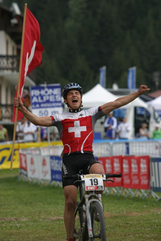 Les Gets 2004 - Nino Schurter