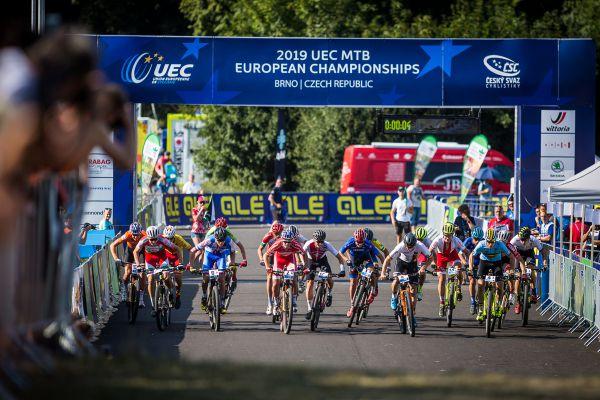 ME MTB Brno 2019 - osmnáct národních štafet