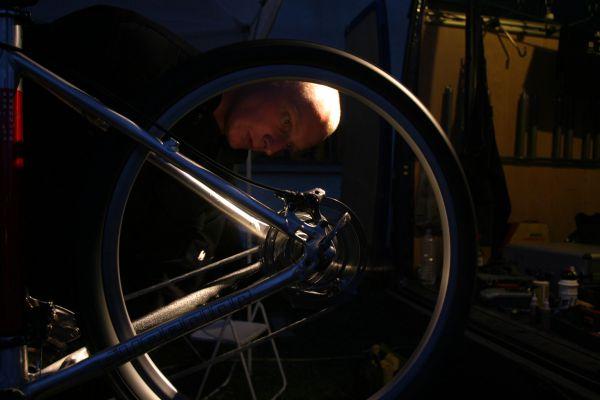 Les Gets 2004 - Dlouhán ladí kola