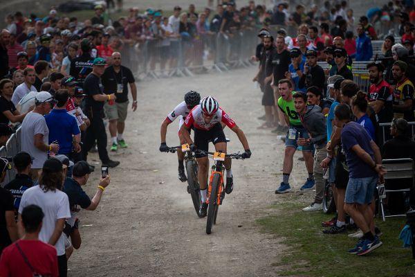 Útok Colomba v závodě U23