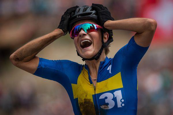 Emotivní vítězství Jenny Rissveds