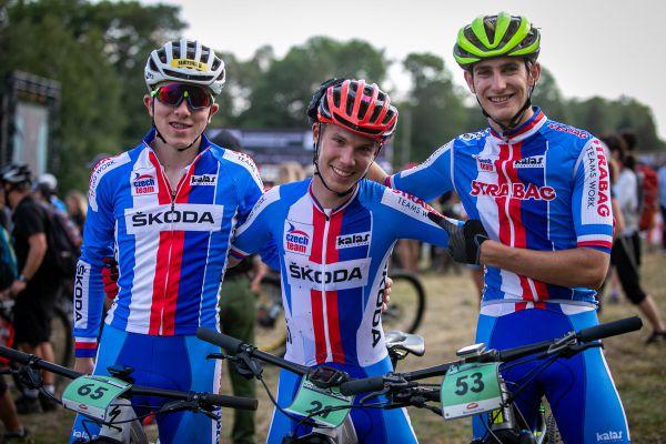 MS 2019 - česká trojka juniorů Honza, Honza a David