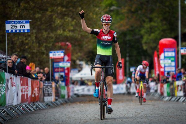 Nakonec zvítězil junior Lennert Belmans z Belgie