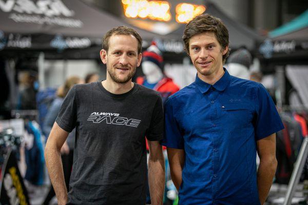 Dvojka, která společně absolvovala pár etapáků - Jan Jobánek a Milan Damek