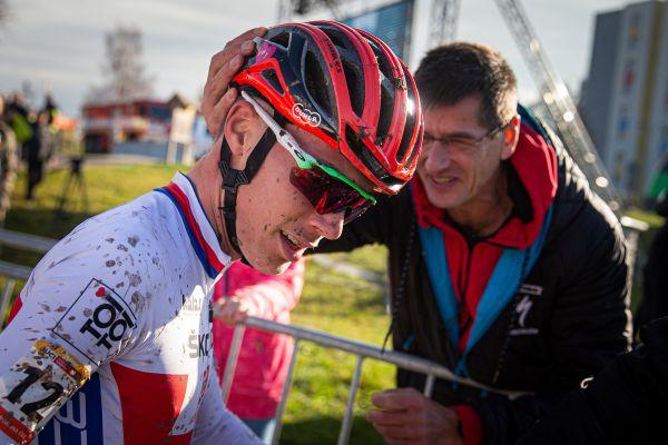 Jan Zatloukal s trénérem Viktorem Zapletalem