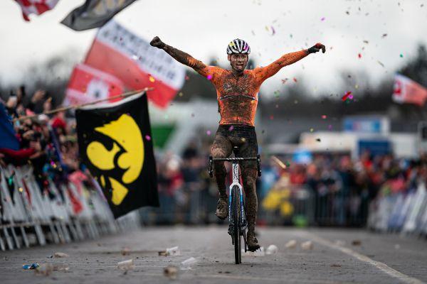 Mathieu van der Poel je znovu mistrem světa